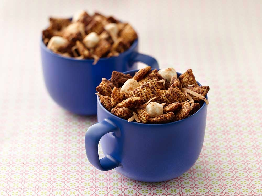 http://www.chexpartymix.com/recipes/mexican-hot-chocchex-mix/
