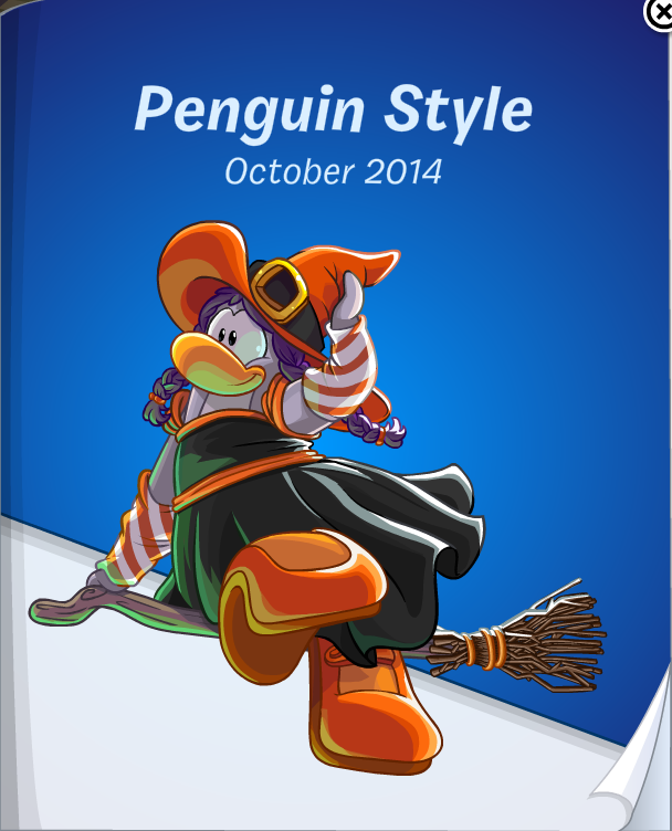 Club Penguin October 2014 Penguin Style Catalog Cheats