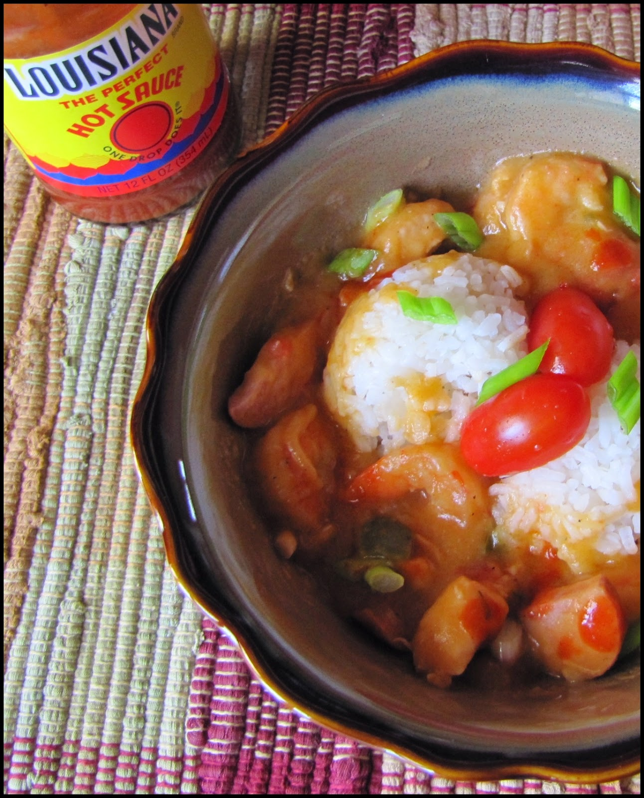 Big Mama's Home Kitchen: Sausage, Chicken and Shrimp Gumbo