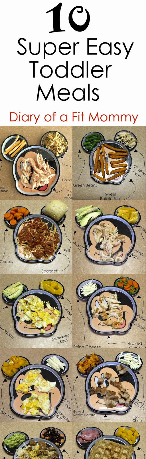 Diary Of A Fit Mommy 10 Easy Toddler Meals For Busy Mommies