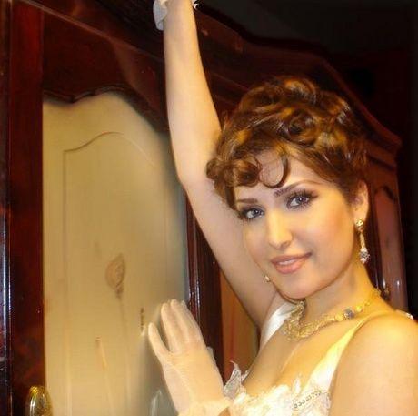 Mozhdah Jamalzadah beautiful pictures collection in random dresses. - mozhdah+jamalzadah+hot+%25285%2529
