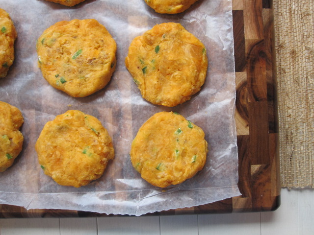 Stirring the Pot: Sweet Potato Cakes with Tangy Dipping Sauce