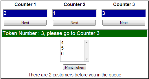 Real time example of queue collection class in c#
