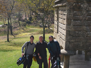 Santiago Tarrio, Jorge Rodriguez y Peter Marvin