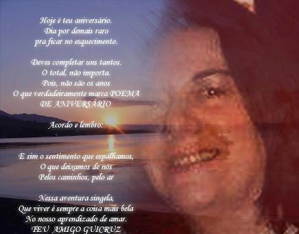 Foto minha/Arte e poema Guicruz.