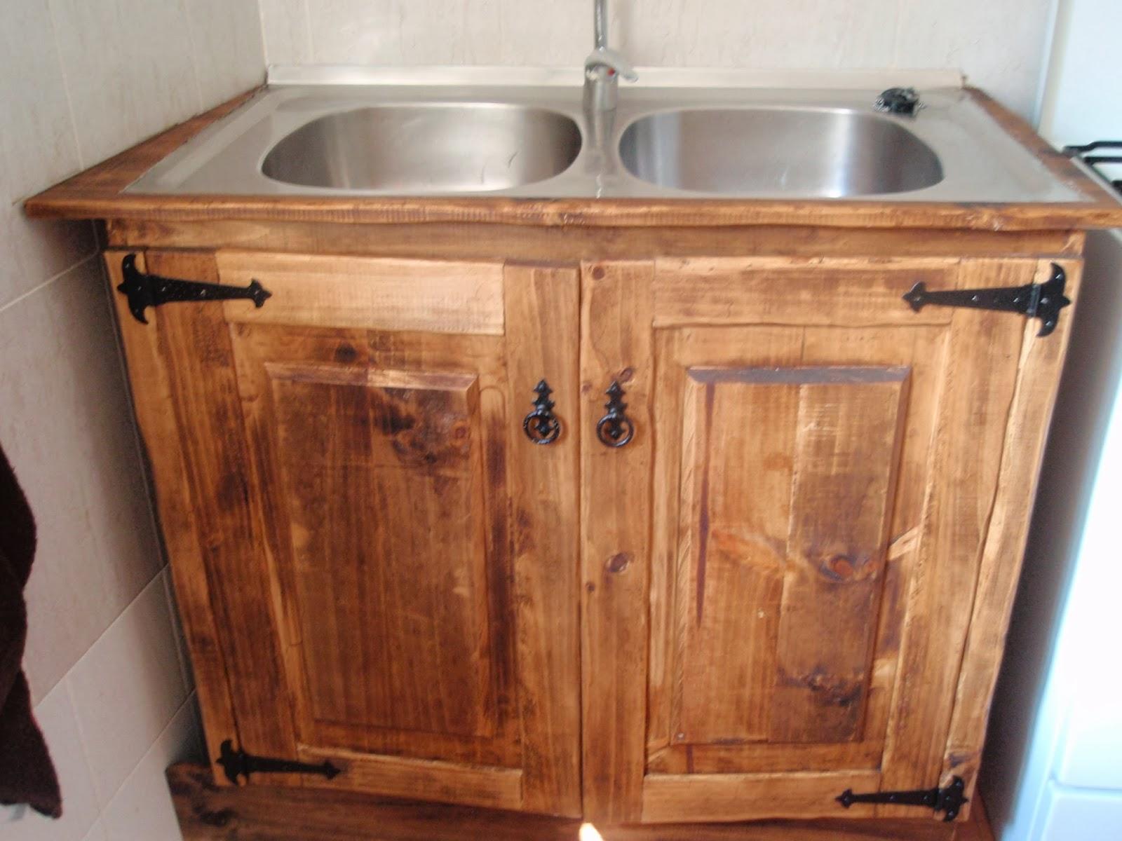 Trabajos r sticos mueble fregadero r stico for El mueble rustico