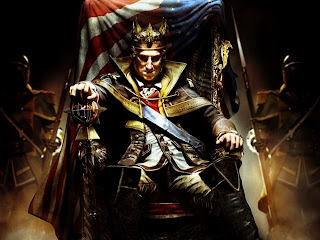George Washington on Throne Assassin's Creed 3 HD Wallpaper