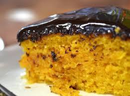 Receita de bolo de cenoura light