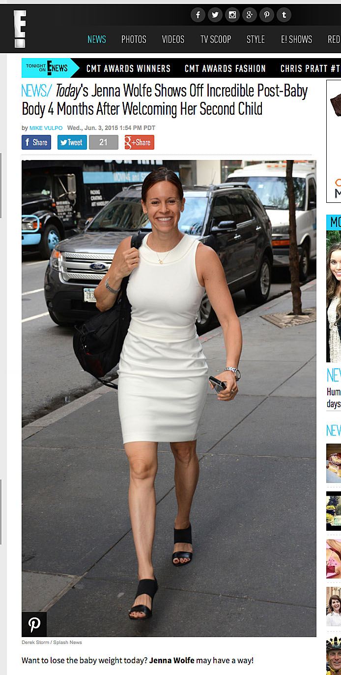 In The News Jenna Wolfe In E