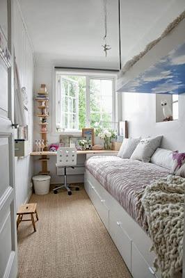 Dormitorios infantiles muy peque os c mo decorar una - Dormitorios infantiles tematicos ...