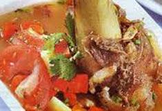 Resep masakan indonesia sop sumsum spesial (istimewa) praktis mudah sedap, gurih, enak, nikmat lezat