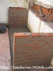 luego de que hemos construido los pilares y hemos dado de buena base a nuestra obra con el encofrado para verter el hormign en lo que se