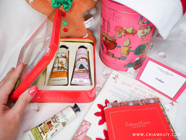 This Christmas, Crabtree & Evelyn Singapore has launched their Christmas Collection 2015 including various gift sets for the ease of many shoppers.