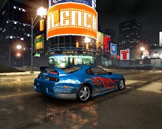 شرح تحميل وتتبيث لعبة سيارات Need For Speed Underground  مضغوطة بحجم 165 MB