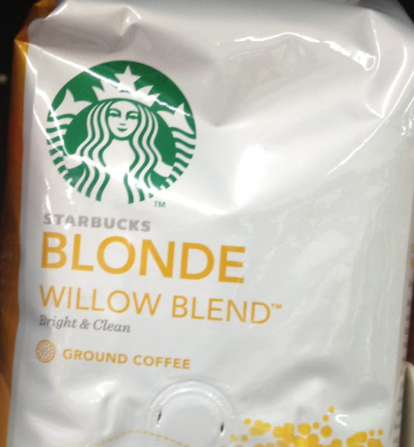 Starbucks Blonde Willow Blend coffee