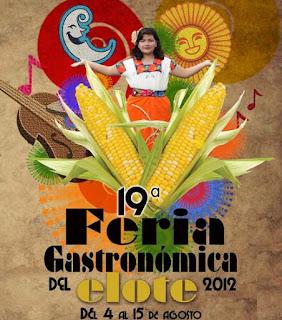 Feria Gastronómica del elote 2012