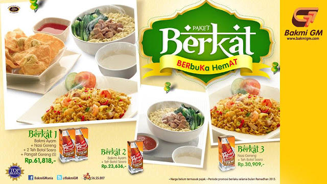 Promo Bakmi GM Paket Berbuka Hemat Periode 8 Juli – 7 Agustus 2013
