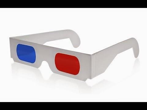 نظاره 3D واتفرج على افلام 3D بالنظاره على الكمبيوتر وبكل سهوله وليست مكلفه