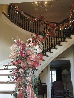 Adornos navidad decoractual dise o y decoraci n - Escaleras decoradas en navidad ...