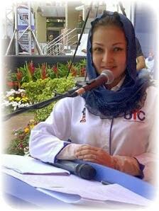gambar terkini Ninie Rahman, Ninie Rahman, penyampai berita TV1, hiburan, berita, gossip Ninie Rahman, kontroversi