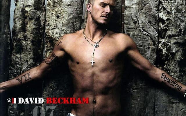David Beckham Cross