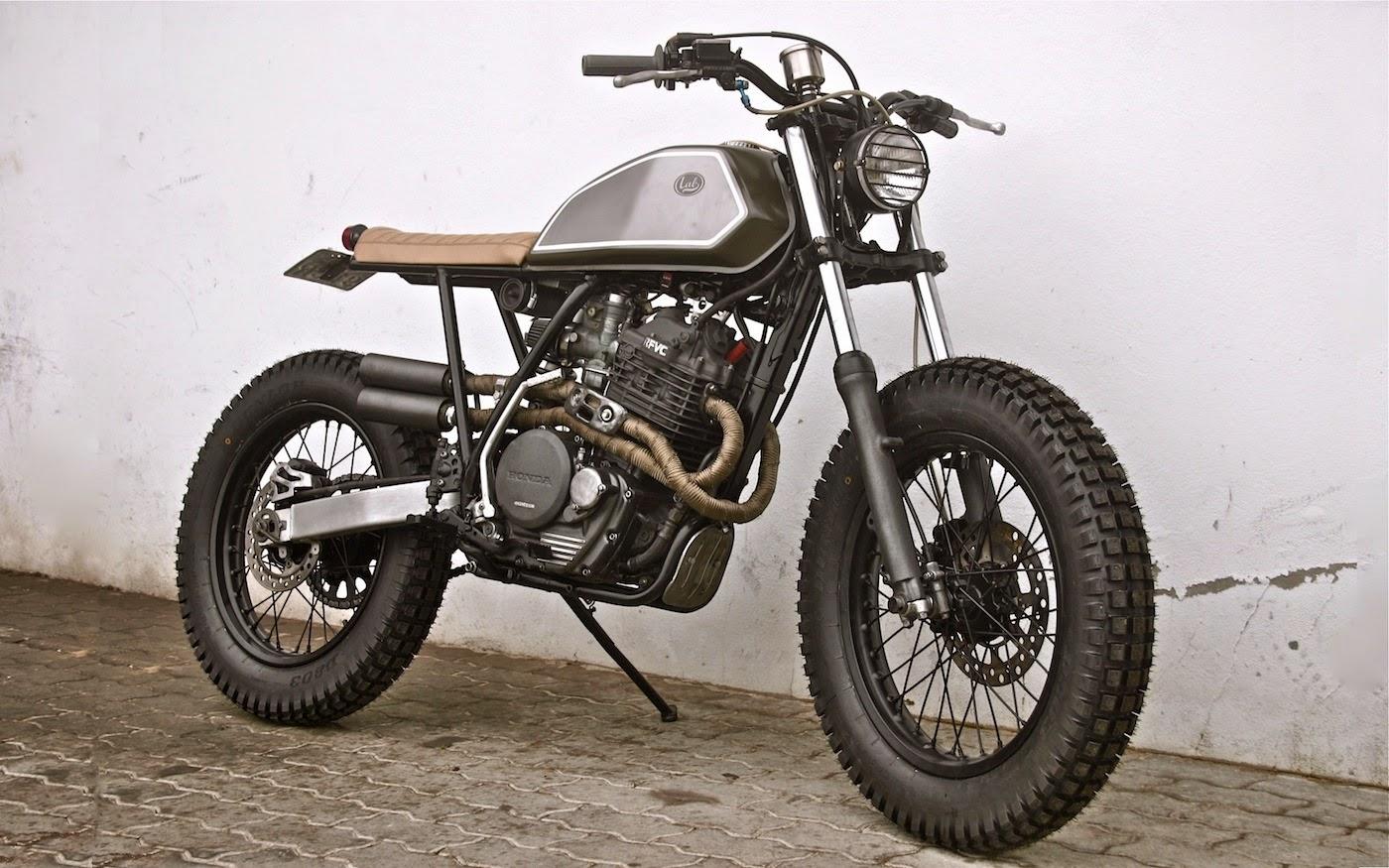 Honda Xr 600 Quot Scrambler Quot By Lab Motorcycle Lsr Bikes