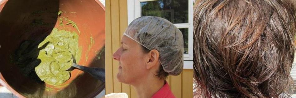 hårfärg grått hår test