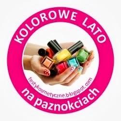 Kolorowe lato na paznokciach:)
