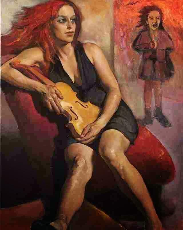 Загадочные картины. Anita Janosova