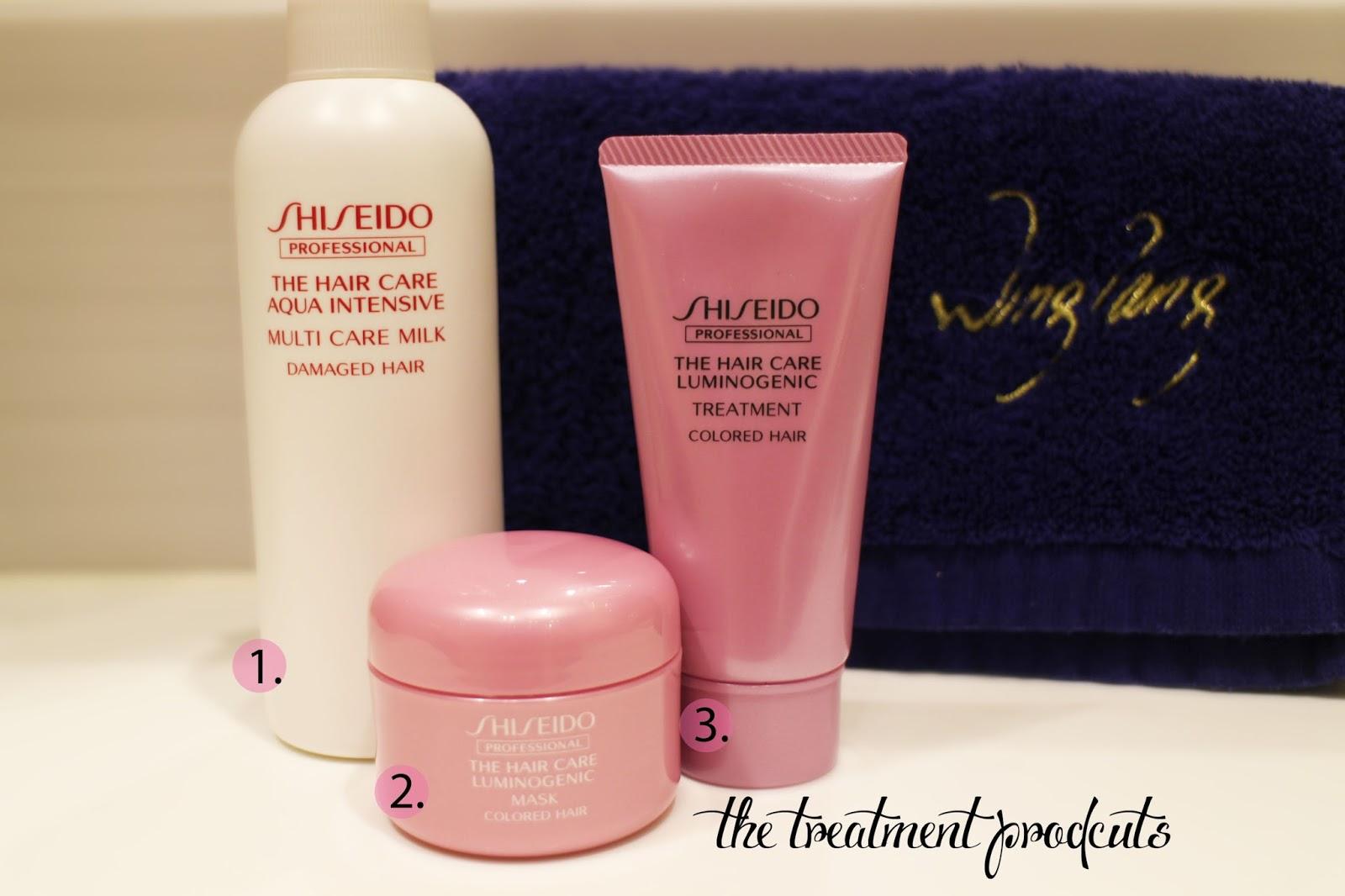 Shiseido hair care multi treatment