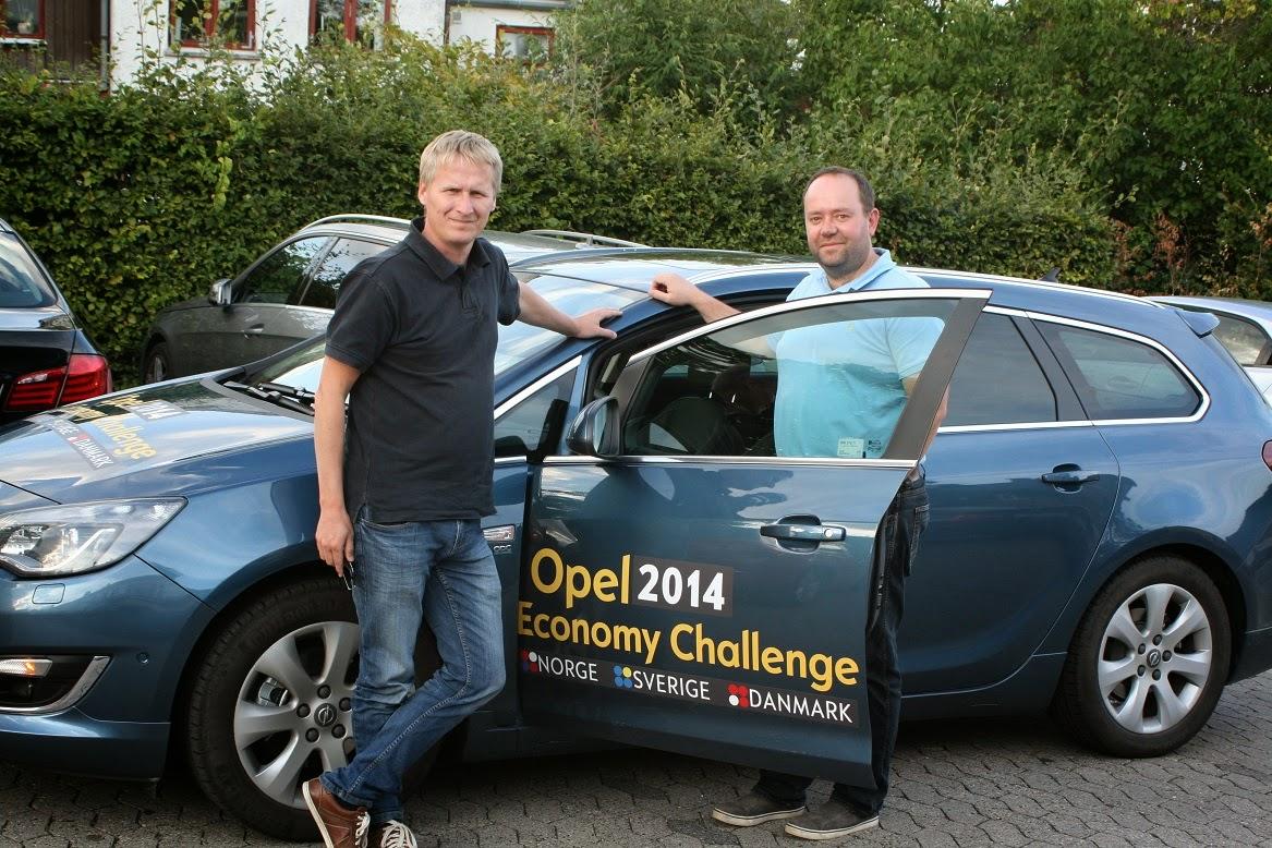 Bil og Motorbloggen: Opel Economy Challenge 2014 - Fra Gardermoen til København med nye Opel ...