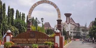 Pendaftaran Universitas Negeri Yogyakarta Jalur SNMPTN, SBMPTN dan Mandiri
