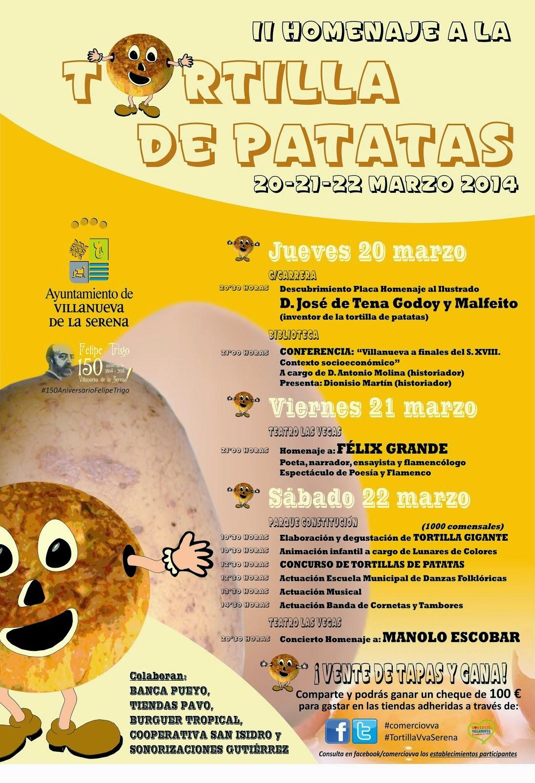 II Homenaje a la Tortilla de Patatas