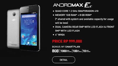 Andromax Ec, Smartphone Andromax 4G LTE Terbaru