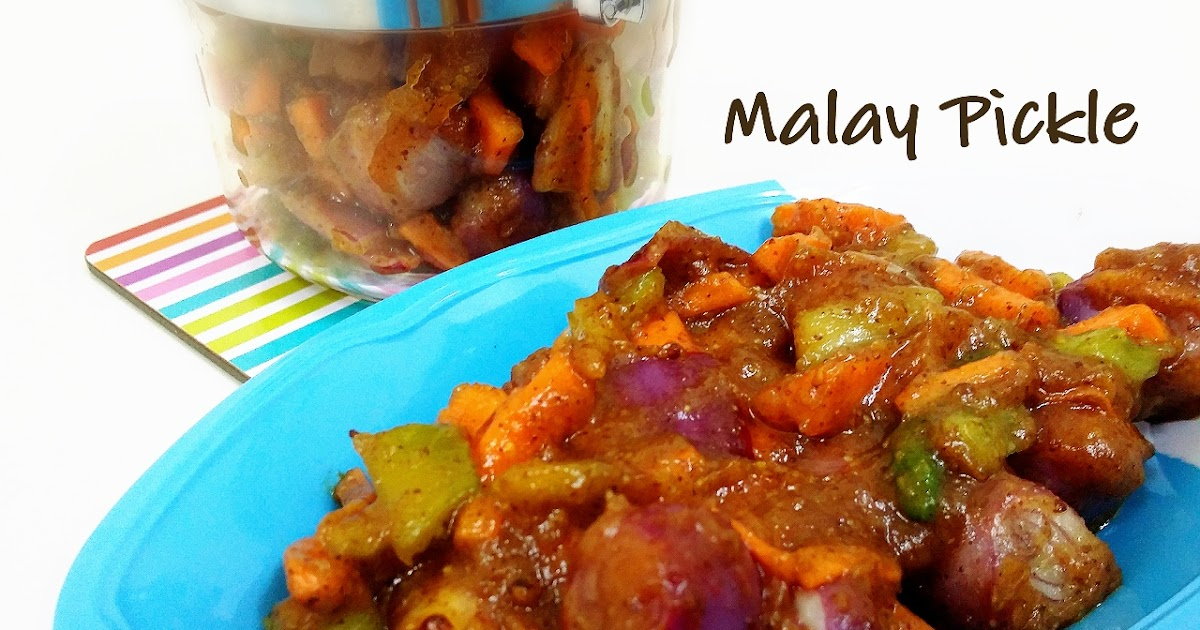 how to make malay pickle