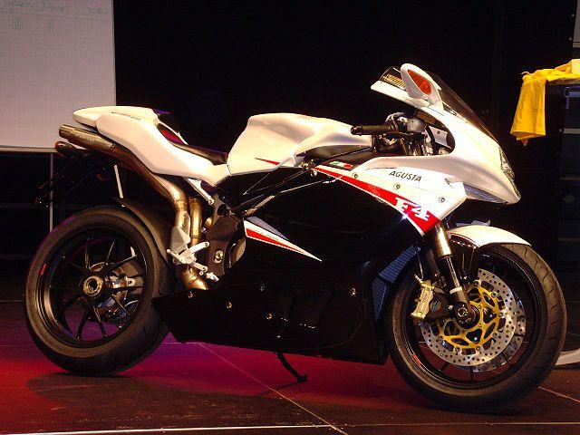 10 Fastest Motorbikes 2012 - F4 R312