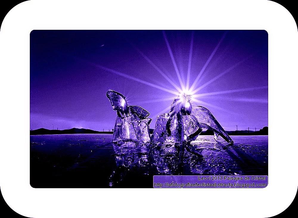 Abstract Photo 3317 Crystal Landscape 181  Spirit possessed by the cosmic fire - Espiritu poseído por el fuego cósmico