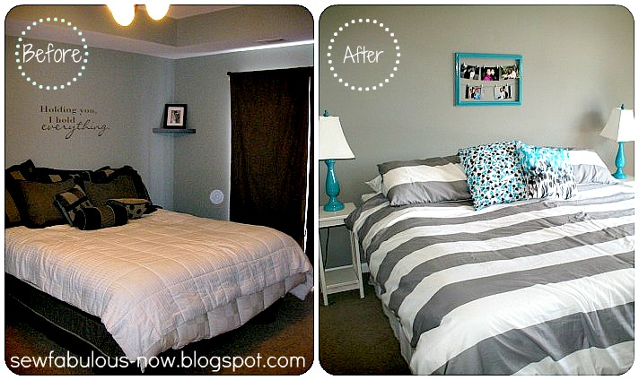 Of Doing These Color In One Of The Living Rooms Turquoise And Grey. Grey And Teal Bedroom