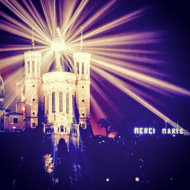 La fête des lumière - Lyon 2014