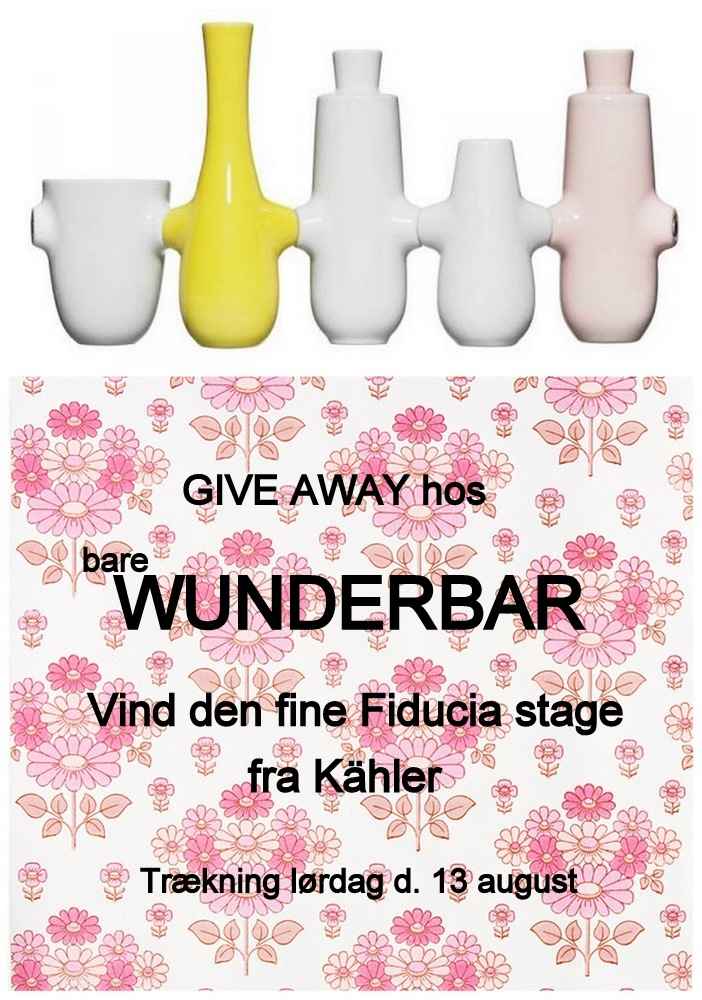 Give away hos bare Wunderbar
