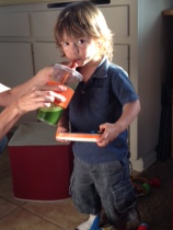 juice for kids - juice recipe - Creative and Crafty Living blog