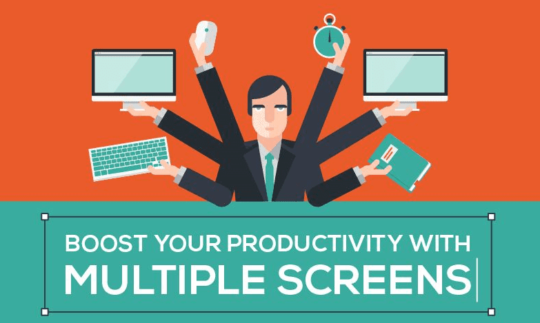 How Dual monitors can increase productivity