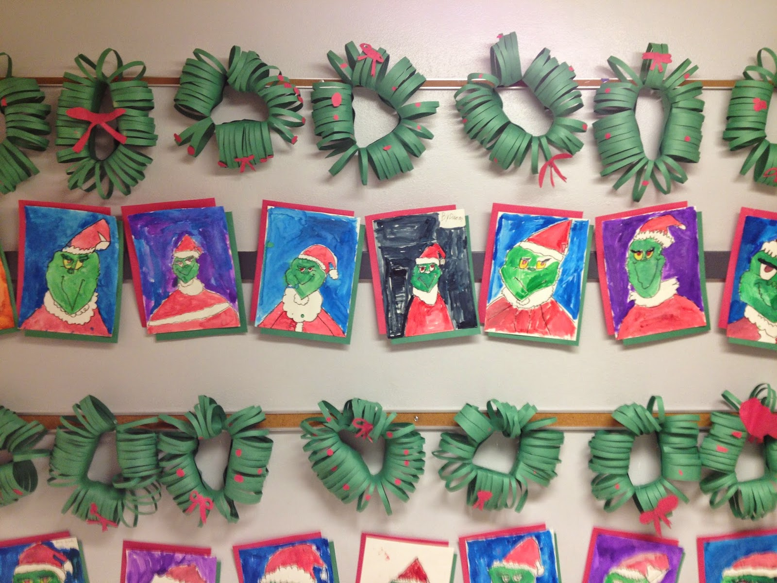 Mrs crouse 39 s teaching adventures merry grinch mas from for 3rd grade christmas craft ideas