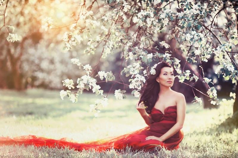 Невероятно красивая фотосессия в саду