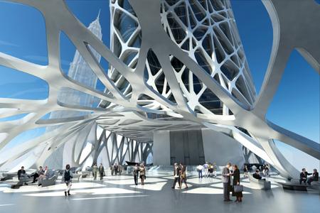 Portafolio Del Arquitecto Sunrise Tower Zaha Hadid