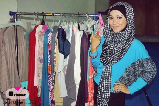 Welcome Fashion Show Opening Hijab Store Bekasi