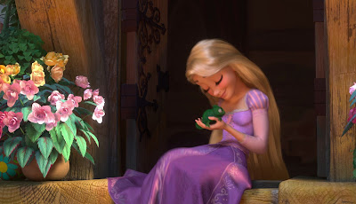 Rapunzel from Tangled movie