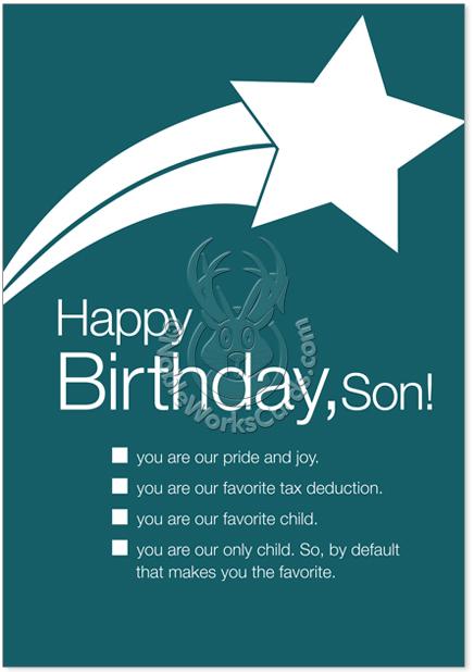 Happy birthday son ecards