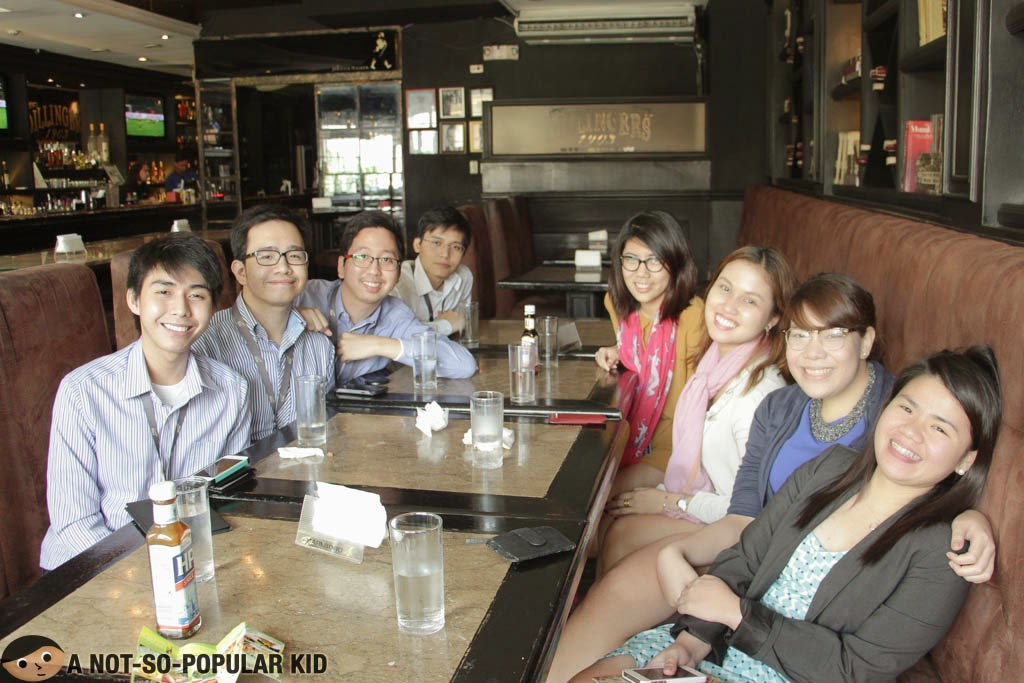 Renz Cheng (A Not-So-Popular Kid) with SGV friends