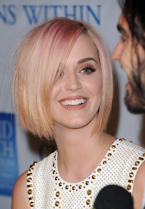 Katy Perry Blonde Hair